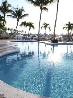 Treasure Cay Resort's swimming pool