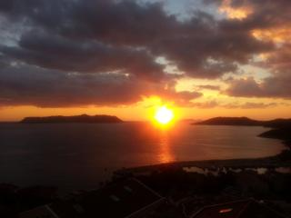 Endless and beautiful sunsets from our balcony.