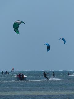 Activité nautique kite surf