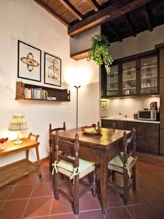he kitchen / dining room
