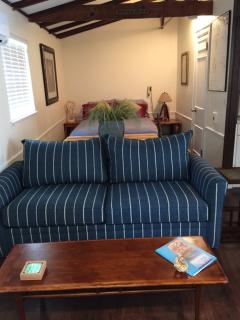 New Queen Sleeper Sofa with Memory Foam Mattress (July 15)
