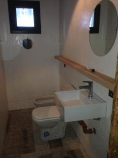 Toilet downstaris