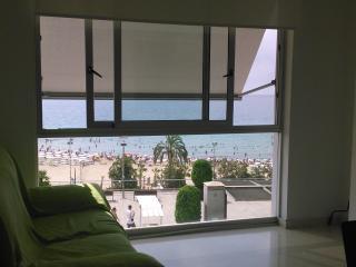 Apartamento 1ª linea Playa Postiguet Alicante