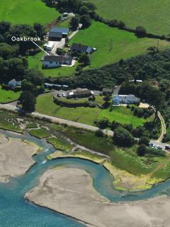 Poppit Sands holiday house over looking the Teifi Estuary