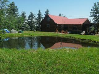 Welcome to Canyon Creek Cottage Cabin Rentals and all the fun of 3 private acres!