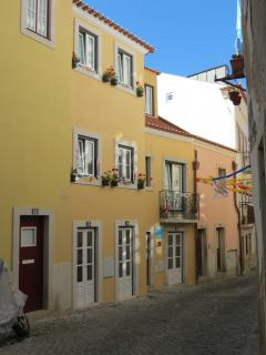 fachada do Castle Inn Lisbon