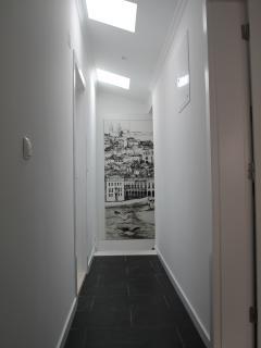 acesso ao apartamento