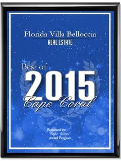 Best of 2015 Cape Coral Award