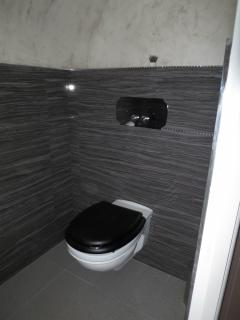 The toilets with the Swarovski lining