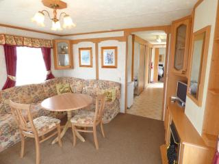 Halls (disabled Access and wheelchair friendly) 6 berth caravan in Skegness