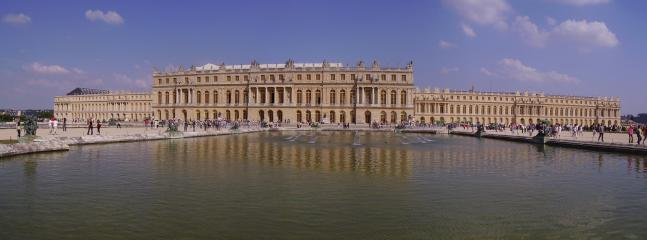 The famous Versailles castle, only 20 minutes by car or bus