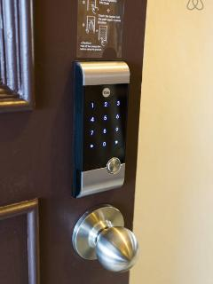 Digital door lock (no need key) with OYP (Only your password)