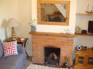 Our Lounge with an open fire for a cosy winter evening