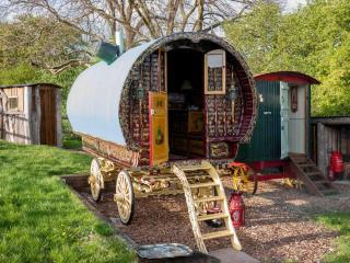 Romantic Gypsy caravan exclusively for two