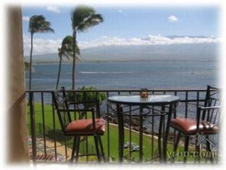 Dinner for Two Oceanfront on Your Lanai!