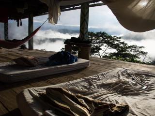 Los colchones sobre la madera. Cuando el despertar se convierte en una experiencia...