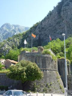 Kotor walled town