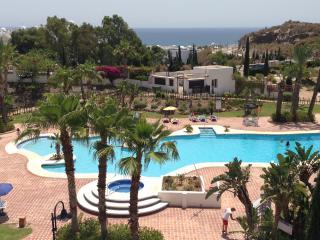 Apartamento con gran terraza y vistas 500m playa, Mojacar