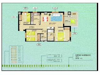 Apartamento Marina Dor, 3 habitaciones 8 personas,, Oropesa Del Mar