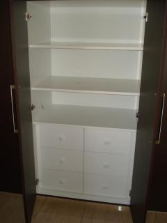 cupboard in the master bedroom