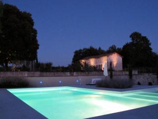 Design Cottage with large landscaped pool, Cognac