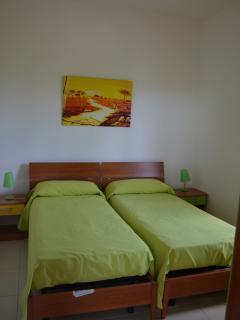 Camera da letto Green versione doppia