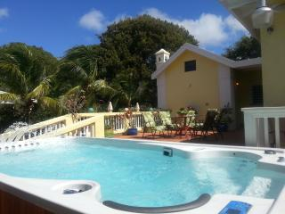 4 BEDRM. 6 BATH LUXURY RENTAL, HYDROPOOL & BEACHES, Frederiksted