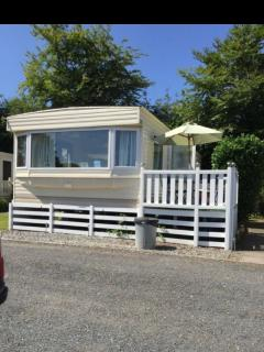6 berth static caravan in Launceston Cornwall