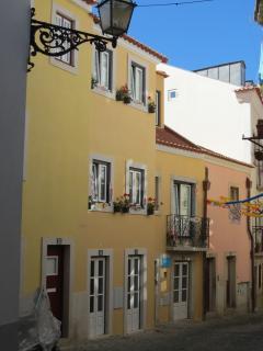 fachada do Castle Inn Lisbon