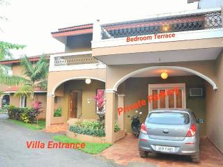 Goa rentals 3Bhk Duplex Luxury Villa,800mts to Beach, Candolim