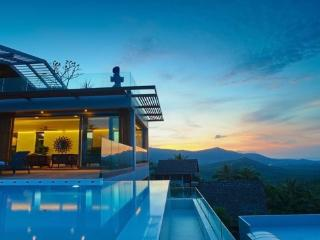 Luxury 6BR Seaview Villa on Bo Phut Hill, Choeng Mon