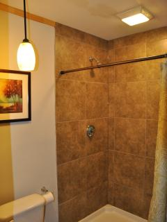 5' Tiled Shower