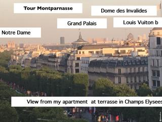 LUXURY&DESIGN IN CHAMPS-ELYSEES AVENUE 75008-VIEW, París
