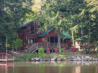 Pristine Lakefront Cabin with Sauna, Boats, Peace and Quiet and Views!