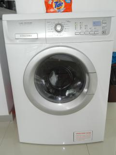 Washing Machine in the Condo, We supply detergent so you don't have to buy it.  Great to have this
