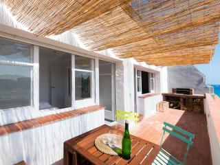Apartamento con vistas al mar y terraza en Blanes