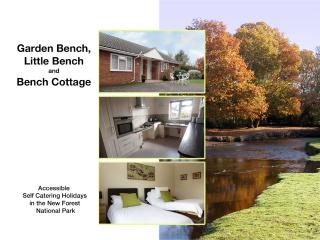 Our Bench, New Forest Accessible Self Catering, Lymington
