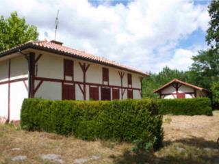 typique maison landaise rénovée, Rion-des-landes
