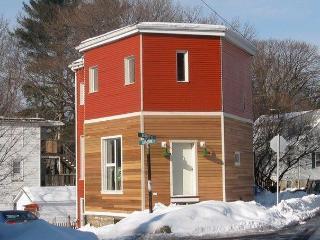 Garden Apartment in Solar Powered Urban Homestead, Boston