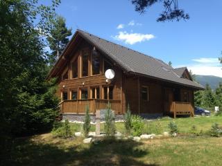 Chalet Tatras is a beautiful, modern wooden house