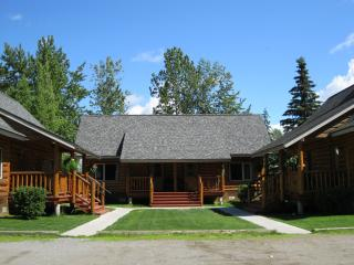 Beautiful Log Cabins located in downtown Talkeetna