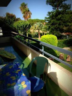 Upstairs Villa Balcony