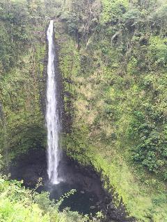 Drive North to Akaka Falls