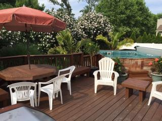 4 BRs w/Hottub, 3 blks to beach, 2/18 - 9/2 - 1500, Dewey Beach