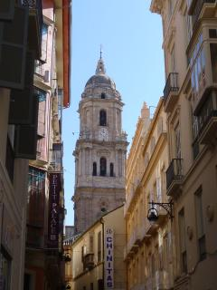 The beautiful historical city of Malaga