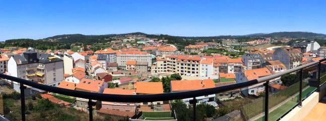 Vista panorámica de la zona desde la segunda terraza