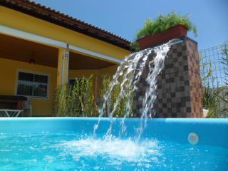 Casa 4 suítes com piscina em Barra do Jacuípe, Guarajuba