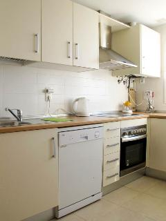 Kitchen with dishwasher & oven