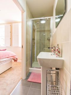 Start your day in the en- suite Power Shower