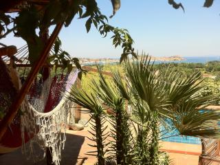 Appartamento Vista Baia ,giardino, piccola piscina, Portoferraio